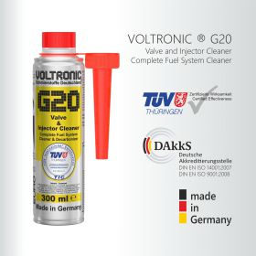 PHỤ GIA XĂNG VOLTRONIC G20 VALVE & INJECTOR CLEANER